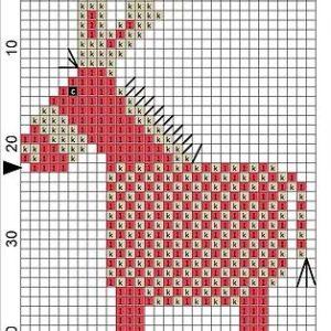 Wooden Magnet Donkey 4