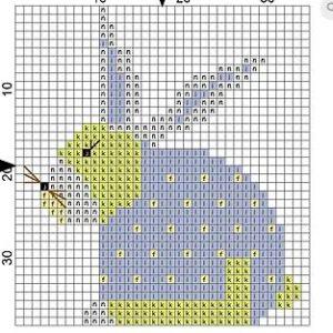 Wooden Magnet Rabbit 1