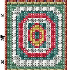 Wooden Quilt Block 10